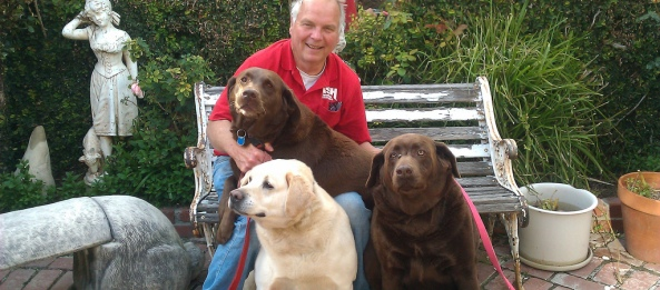 Bill King and His Dogs