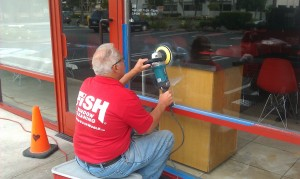 Fish Window Cleaning Removes Scratches in Redondo Beach, CA