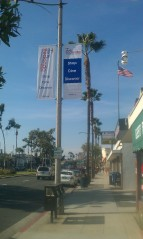 NRBBA Banners on Artesia Blvd.