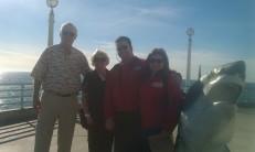 Miles & Jean Roche Visit John Gran & Cynthia Julian in Manhattan Beach, CA