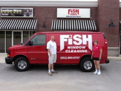 Bob and Brenda DePoortere w/new van