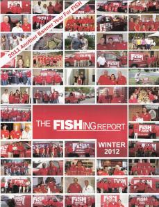 Winter 2012 - Fish Report Cover