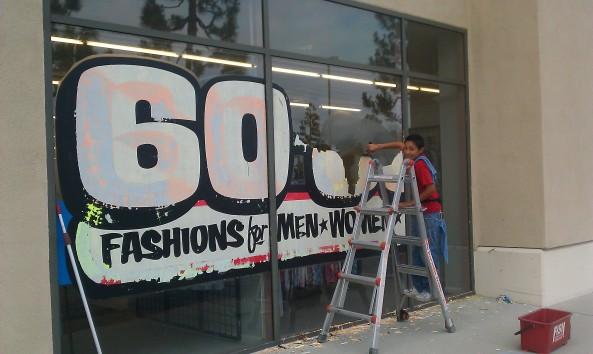 Sonya Removes Paint Large Job