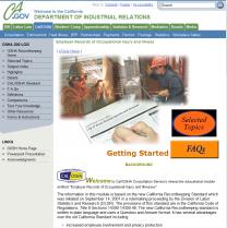 Cal-OSHA Website
