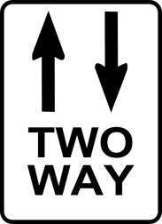 Two-way streets are everywhere!